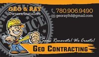 Full Home Renos and Commercial Developments!