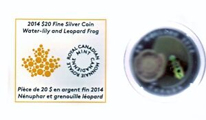 2013 & 2014 silver and Murano glass silver coins