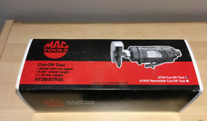 "NEW Mac Tools Air Cut-Off tool 3"" AT28 $130"