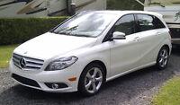 2013 Mercedes-Benz B-Class Calcite White Hatchback