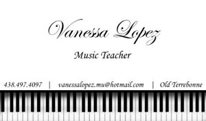 Piano And/or Singing Lessons