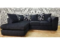 BARCELONA CHENILLE FABRIC CORNER OR 3+2 SEATER NOW AVAILABLE IN STOCK