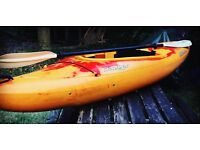 Dagger Approach Kayak 9.0, Buoyancy aid and Paddle