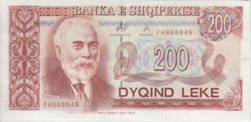 Albania Banknote P. 59 200 Leke 1996, UNC We Combine