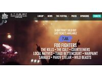 NOS Alive 2017- 2 Day tickets (July 6, July 7) in Lisbon, Portugal
