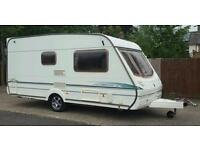 2003 ABBEY VOGUE 215 GTS 2 BERTH CARAVAN WITH END DRESSING/BATHROOM ALL ACCESSORIES INCLUDED