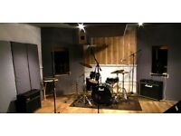 Music rehearsal studio available for bands/ producers to sub let now in Dalston, East London