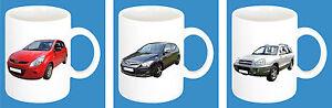 300-ml-ceramica-Tazza-con-fantasia-AUTO-HYUNDAI-modello-caffe-Tazza-AUTO