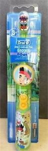 Oral-B Pro-Health Kids Battery Toothbrush Disney Jake & the Never Land Pirates