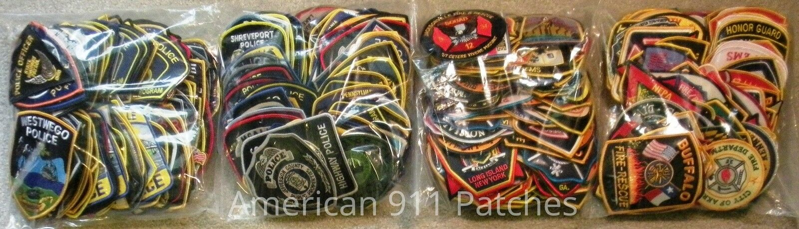 AMERICAN 911 PATCHES