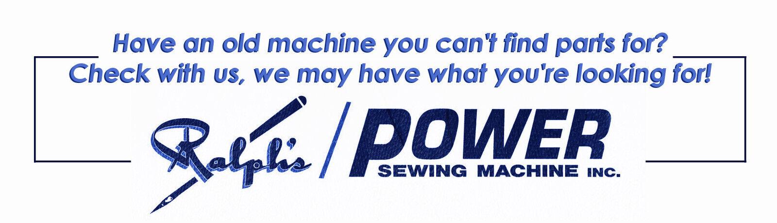 Ralphs Industrial Sewing