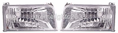 COACHMEN CATALINA 1998 1999 2000 DIAMOND PAIR HEAD LIGHTS LAMPS RV HEADLIGHTS