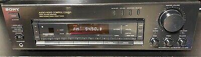 Sony STR-D615 FM Stereo/AM-FM Receiver Audio/Video Control Center Amp