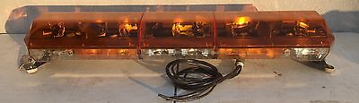 Code 3 Mx 7000 Amber 47 Light Bar With Arrowstik Clean Tested Working 4