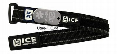 SOS USB Notfallarmband  Sport Biker Fußball Diabetes Epilepsie UTAG ICE Running ()