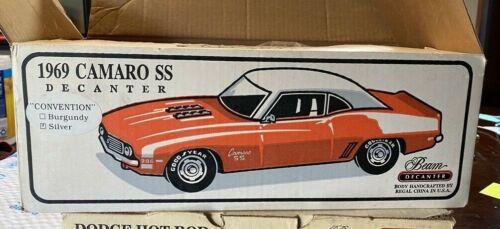 Jim Beam 1969 CAMARO SS-RED.   Decanter 10315.