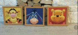 Nursery Winnie the Pooh framed pictures