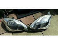 Honda civic front headlights
