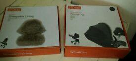 Stokke sheepskin liner&winter kit
