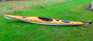 Sea Kayak, fibreglass Wilderness Systems Tsunami Pro 160 Oatley Hurstville Area Preview