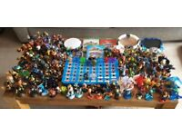 Huge joblot Skylanders inc. Xbox one games, portals and rare dark and light trap team expansion sets
