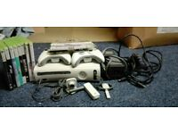 X box 360 and 10 games