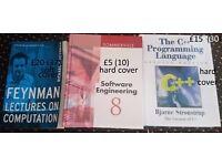 computing books. Feynman, software engineering, C++ programming language