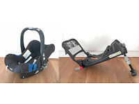 Britax Baby-Safe Plus SHR II Baby Car Seat - Black. Also ISO fix base. Little use