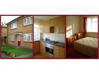 FOR RENT: Two-Bedroom Garden Flat, Central Egham, from mid/end November