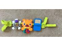 Bright starts car seat toys