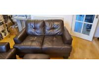 Free 2 two seaters sofas and storage