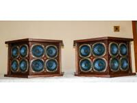 Vintage Bose 901 series II direct reflecting Speakers (18 mini drivers)