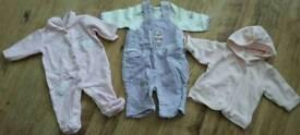 Baby girl clothing set - Newborn