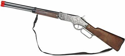 NEW Gonher Spain Cowboy Lil Henry Lever Action Toy Hunting Rifle Cap Gun