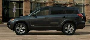 2012 Toyota RAV4 Sport V6 WITH LEATHER & ONLY 43255 KMS!!