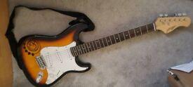 Johnny brook Electric guitar strat copy
