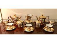 Vintage Gold Tea set