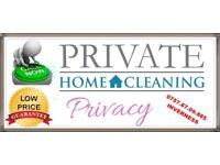 Private Cleaning Services and Driving