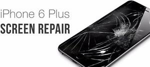 SCREEN LCD REPAIR ALL KINDS OF PHONES** WEEKLY SPECIAL **IPHONE 6 SCREEN FIX $79 (TAX INC.)