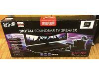 Maxell MXSB-252 2.1 Soundbar/Soundbase - 3x HDMI, 1x Optical, 1x AUX Inputs