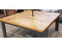 Bespoke Heavy Duty White Oak Patio Table