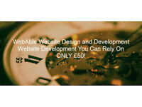 WebAble - *£50* Professional Website Design for Individuals and Small/Startup Businesses