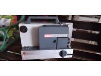 EUMIG 502D projector and splicing equipment