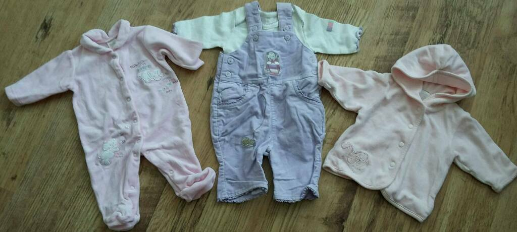 Newborn Baby Girl Clothes Bundle In Chester Le Street County