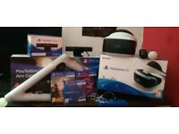 PS VR Bundle Camera Controllers Games And Gun