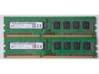 RAM 1RX8 PC3L - 12800U 2 x 4GB (8GB)