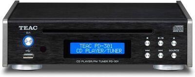 Teac CD player FM tuner PD-301-B Black USB memory music Play