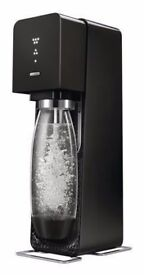 Soda Stream Source with 2 Reusable Bottle & Gas Cylinder