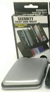 New RFID Wallet -    Scan Blocking Protection Security wallet
