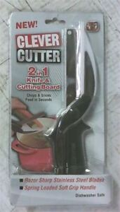 Clever Cutter 2 in 1 Knife & Cutting Board (As Seen On TV)